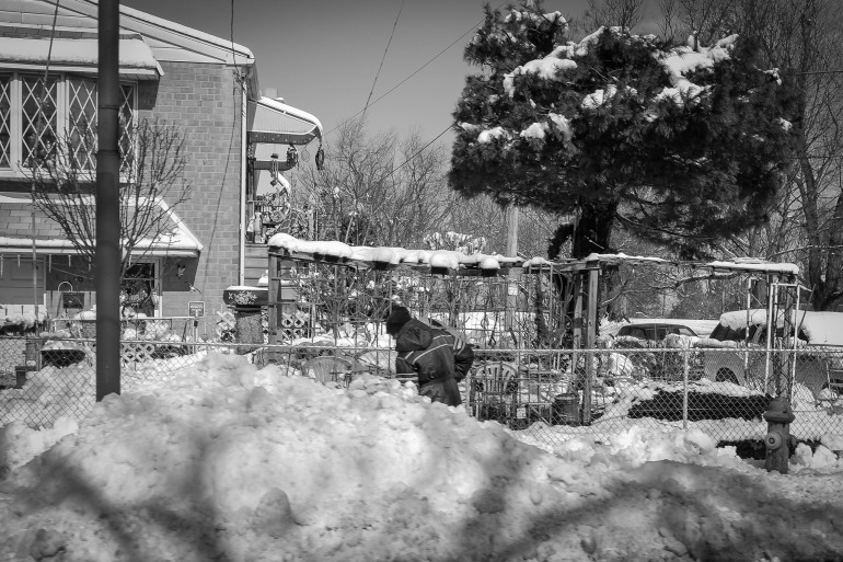 Digging Out in Torresdale