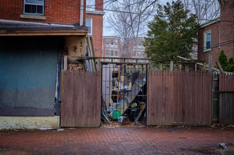 """Contained"" - Neighborhood: Powelton Village"