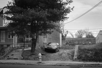 """""""Mud Driveway"""" - Neighborhood: Ogontz"""