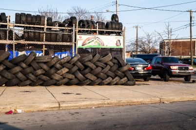 """Tire Braid"" - Hunting Park"