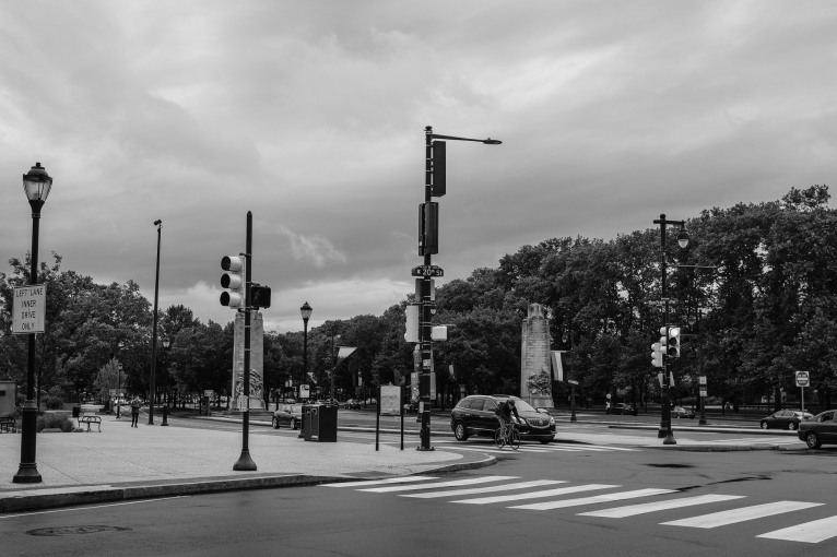 """""""Race the Rain"""" - Logan Square"""